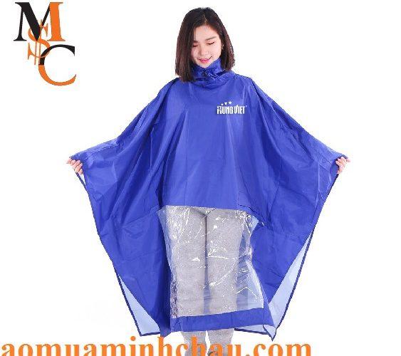 Áo mưa cánh dơi vải dù cao cấp